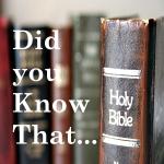 BIBLE_FACT